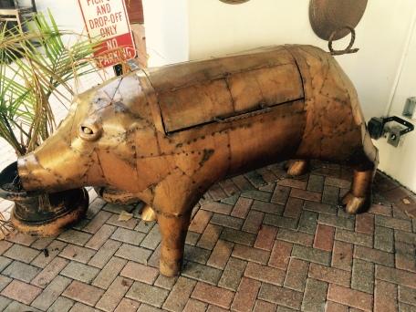 smoke pig