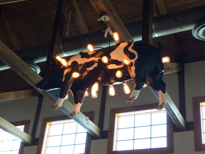 sam jones pig chandelier