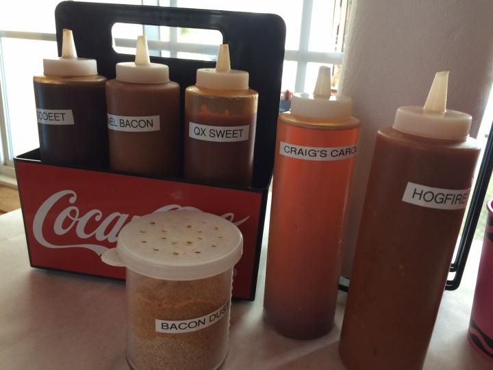 bbq x sauces