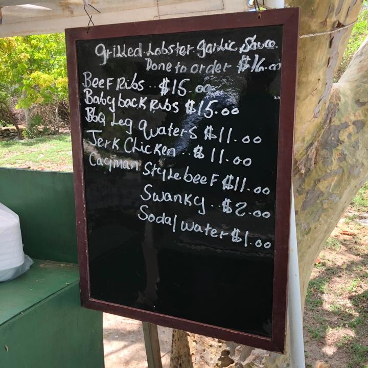 big tree menu