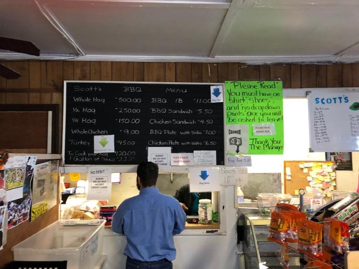 scotts menu