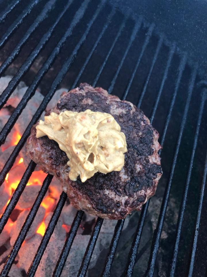guber on grill
