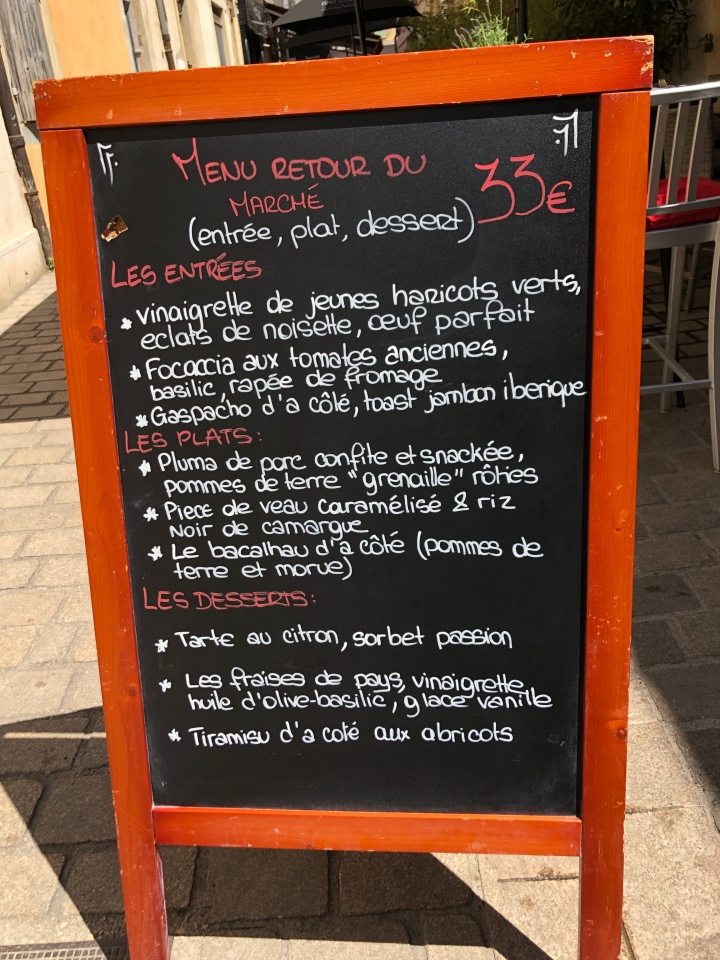cote menu