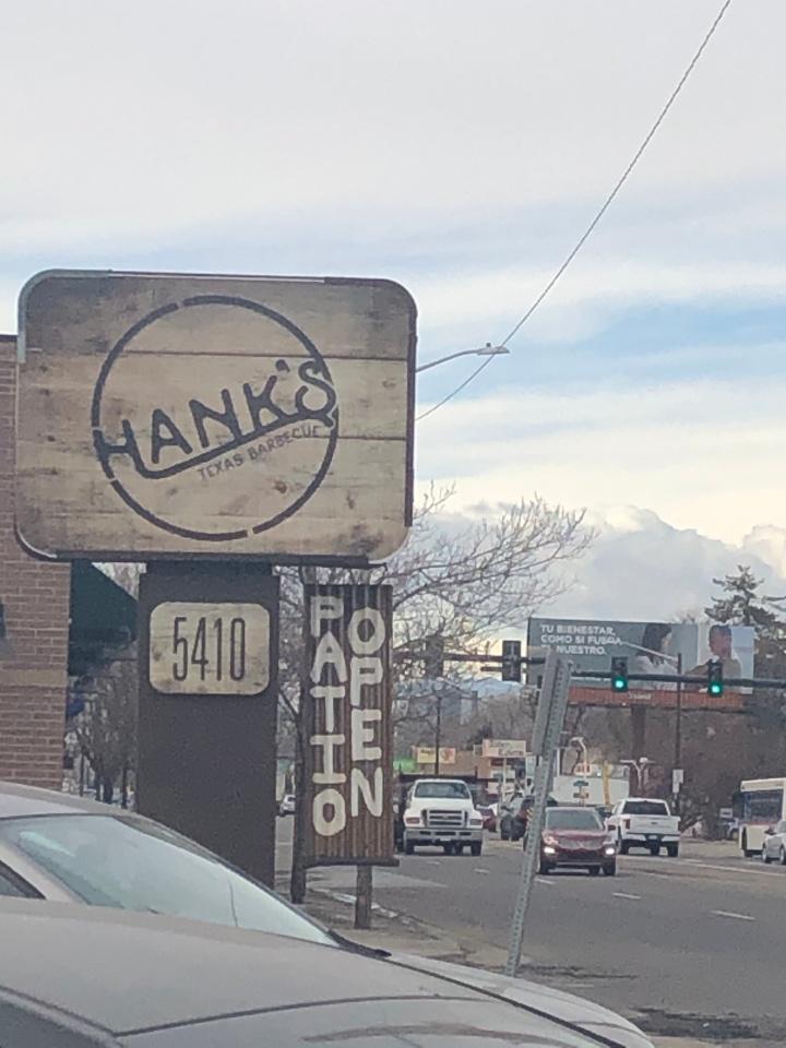 hanks sign